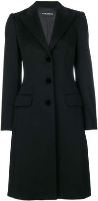 Dolce & Gabbana classic single-breasted coat