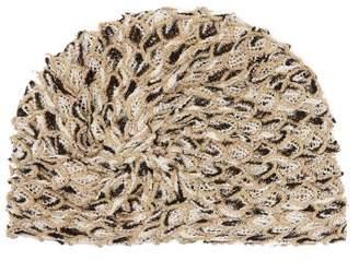 Missoni Mare - Knotted Metallic Mesh Turban Hat - Womens - Multi