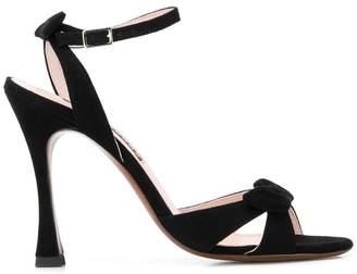 ALEXACHUNG Alexa Chung bow heeled sandals