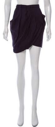 Zero Maria Cornejo Tiered Mini Skirt