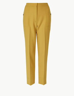 Marks and Spencer Straight Leg 7/8th Trousers