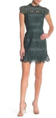 June & Hudson Lace Mini Dress