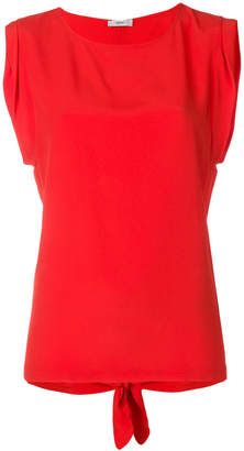 Mauro Grifoni sleeveless slit back blouse