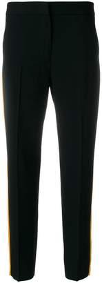 MSGM striped slim trousers