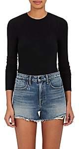 ATM Anthony Thomas Melillo Women's Ribbed Bodysuit - Black