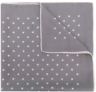 Holland & Holland polka dot scarf