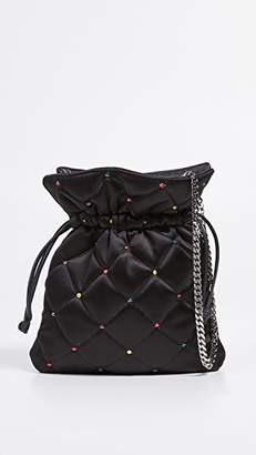 Les Petits Joueurs Quilted Strass Trilly Pouch