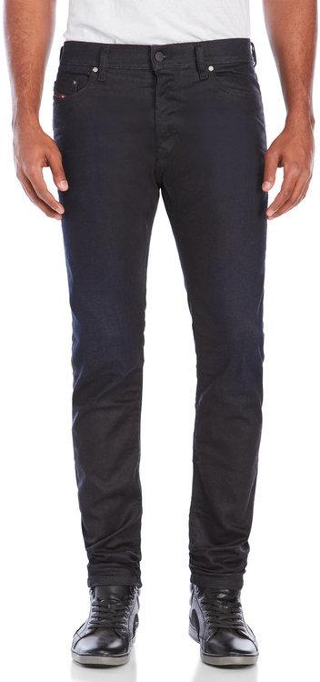 Dieseldiesel Black Tepphar Slim-Carrot Fit Jeans
