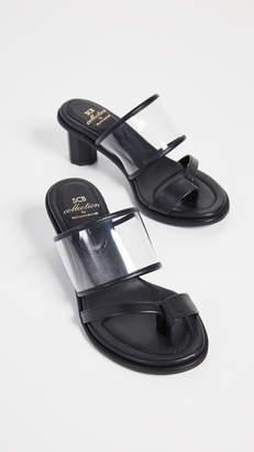 SUECOMMA BONNIE Transparent Heeled Sandals