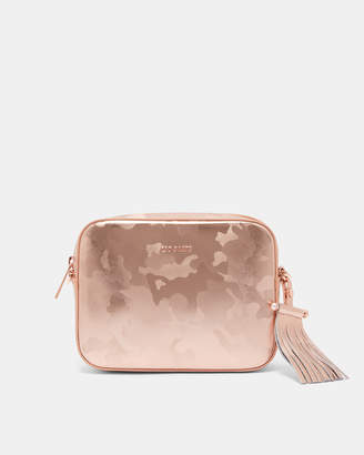 Ted Baker CHLOEYY Camouflage leather camera bag