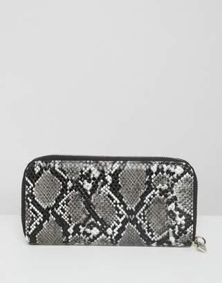 French Connection French Connenction faux snakeskin purse