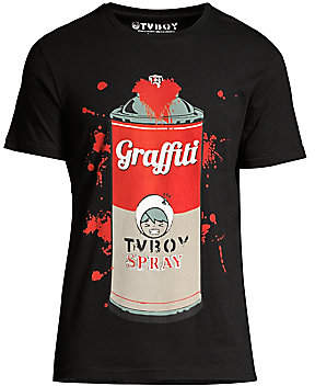 Eleven Paris Men's Graffiti Graphic T-Shirt