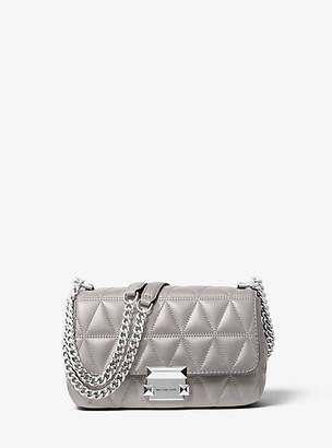 Michael Kors Sloan Small Quilted-Leather Crossbody