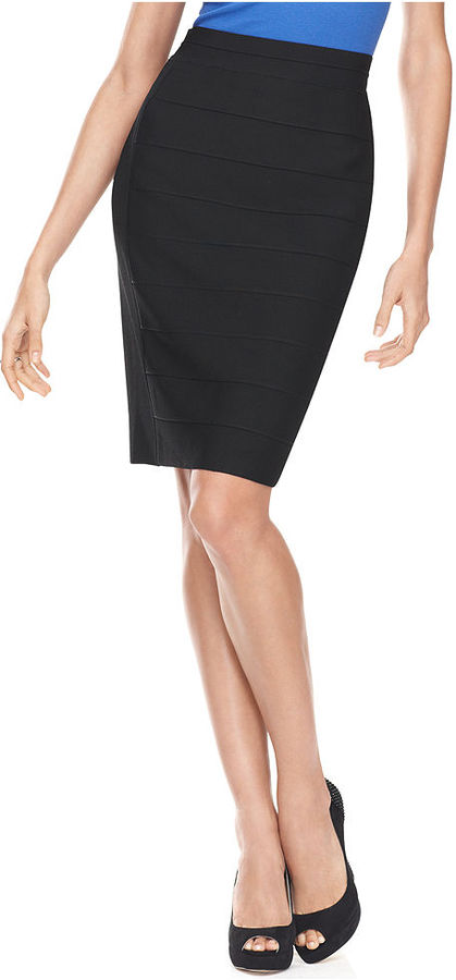 INC International Concepts Skirt, Bandage Pencil