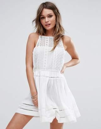 Boohoo Crochet Tassel Sun Dress $32 thestylecure.com
