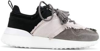 Tod's lace-up low top trainers