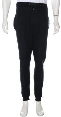 Balmain Drop-Crotch Knit Joggers