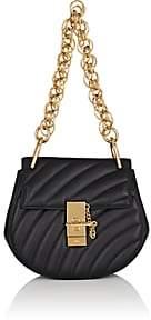 Chloé Women's Drew Bijou Small Leather Crossbody Bag - Black