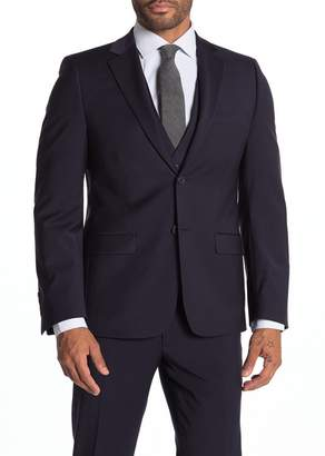 Calvin Klein Milo Notch Collar Skinny Fit Suit Separate Jacket