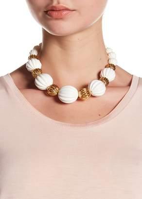 Trina Turk Open & Beveled Bead Necklace
