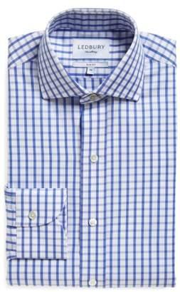 Ledbury 'Urbana Box' Slim Fit Check Dress Shirt