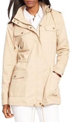 Women's Lauren Ralph Lauren 4-Pocket Anorak $180 thestylecure.com