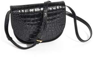 Jigsaw Milas Croc Saddle Bag