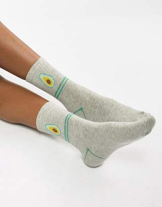 Vero Moda Avocado Socks