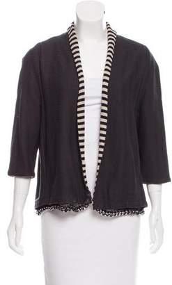 David Szeto Embellished Knit Blazer