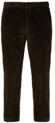 Joseph Ernest Cotton Blend Corduroy Trousers - Mens - Khaki