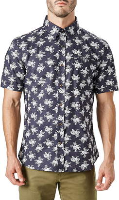 7 Diamonds Nature's Way Slim Fit Short Sleeve Shirt