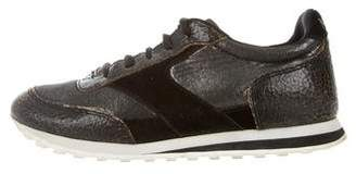 Marc by Marc Jacobs Embossed Low-Top Sneakers