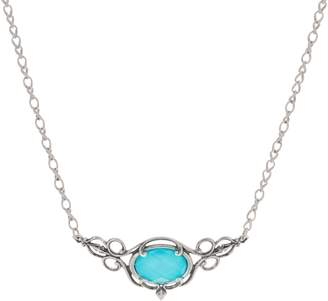 Couture Carolyn Pollack Country Sterling Silver Gemstone Necklace