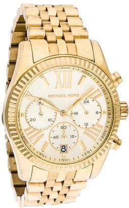 Michael Kors Lexington Watch $145 thestylecure.com