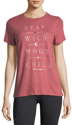 Spiritual Gangster Wild Moon Crewneck Tee