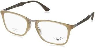 Ray-Ban Men's 0RX 7131 8018 53 Optical Frames