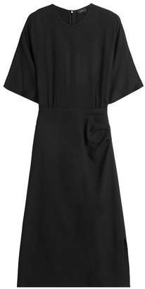 Joseph Draped Dress with Wool
