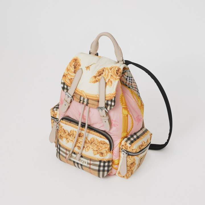 Burberry The Medium Rucksack in Archive Scarf Print - ShopStyle Backpacks f1bf19ef96770