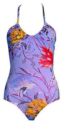 Fuzzi Swim Swim Women's Floral One-Piece Swimsuit