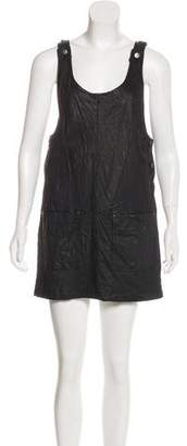 Gryphon Leather Shift Dress w/ Tags