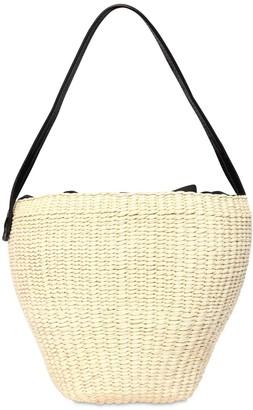 Medium Straw Shoulder Bag