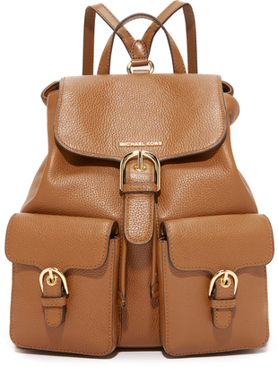 MICHAEL Michael Kors Small Cooper Flap Backpack $398 thestylecure.com