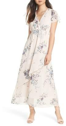 19 Cooper Ruffle Detail Maxi Dress