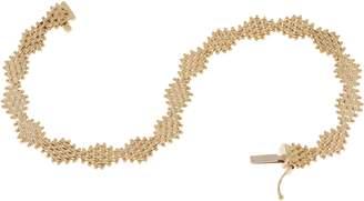 "Imperial Gold 8"" Diamond Shape Lame' Bracelet, 14K Gold"