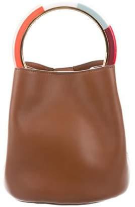 Marni Pannier Bucket Bag Brown Pannier Bucket Bag