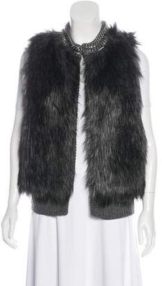 Michael Kors Embellished Textured Vest