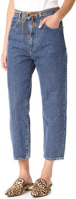 Levi's Made & Crafted Barrel Jeans $178 thestylecure.com