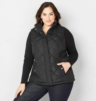 Avenue Faux Fur Lined Vest