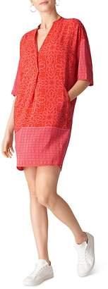 Whistles Luna Riya-Print Dress