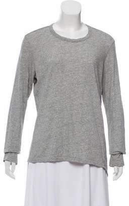 Bassike Long Sleeve Top